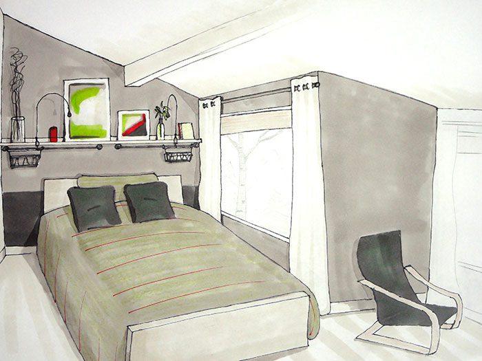 Design intérieur chambre