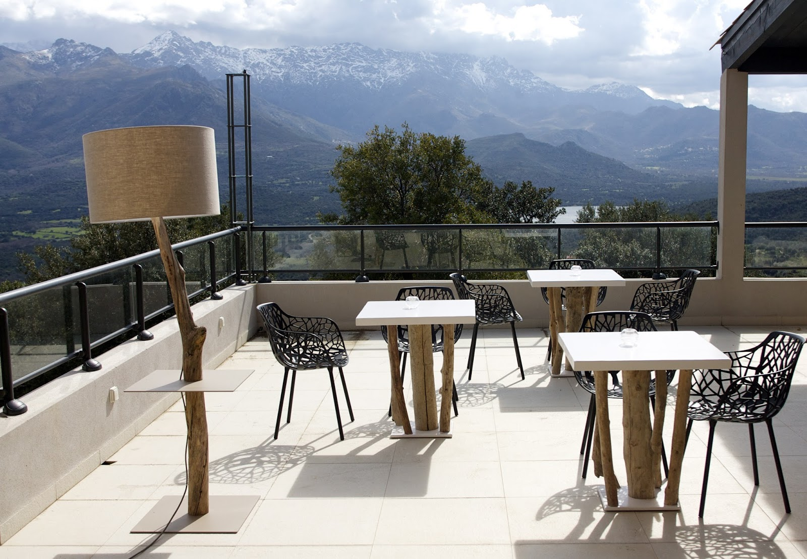 terrasse bois flotté