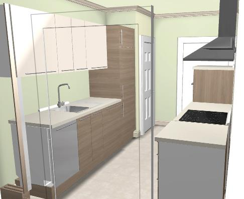 ikea 3D kitchen