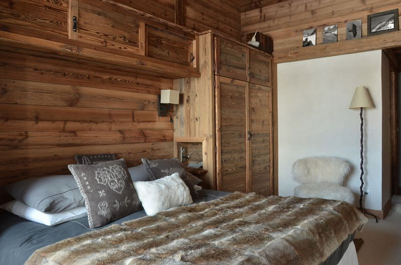 modern chalet interior design cosy neve design. Black Bedroom Furniture Sets. Home Design Ideas