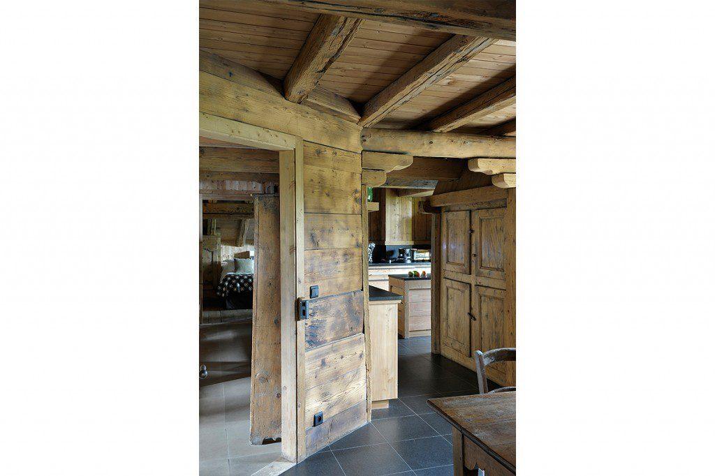 cuisine bois et pierres