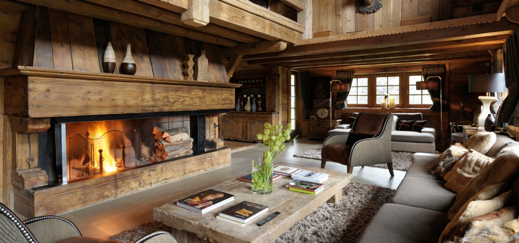 large salon chalet