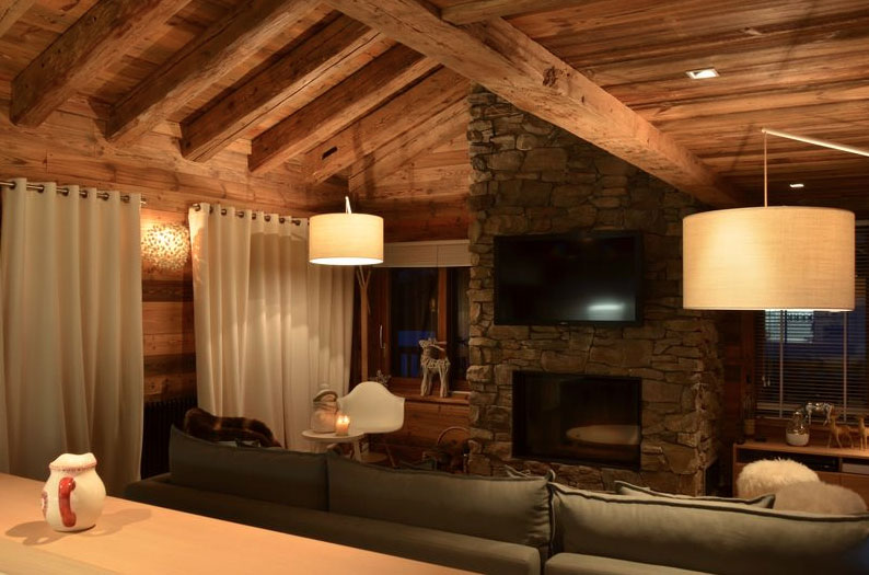 Deco Intrieur Chalet Moderne Cosy NEVE Design