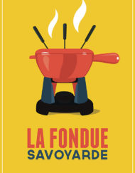 fondue fromage affiche