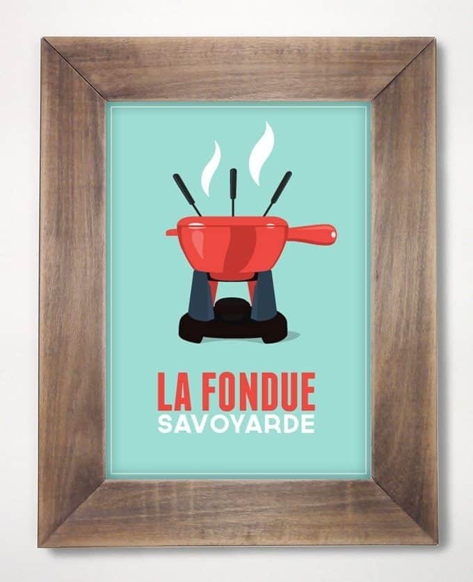 vintage fondue chalet
