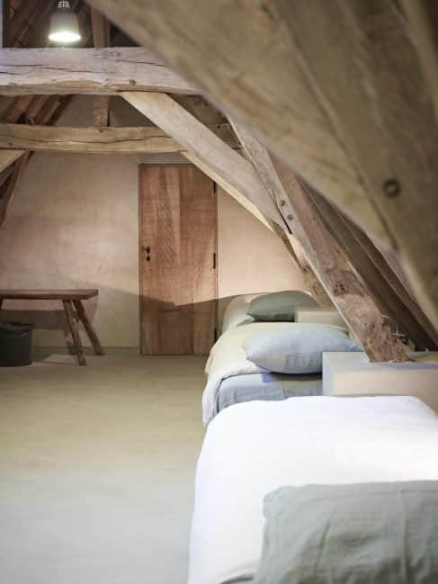 kids bed attic