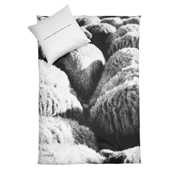 duvet cover sheep natural
