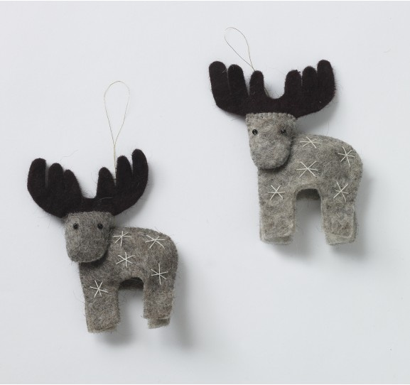 dear felt christmas deco