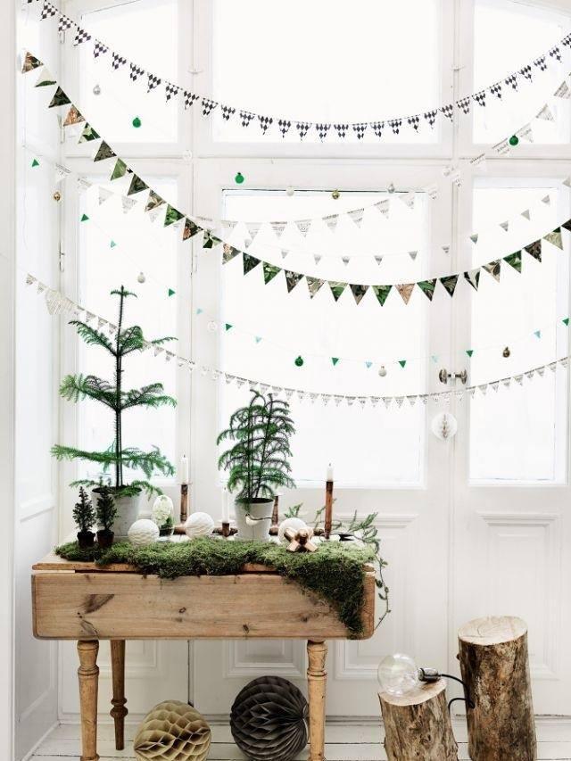 Noël déco vert
