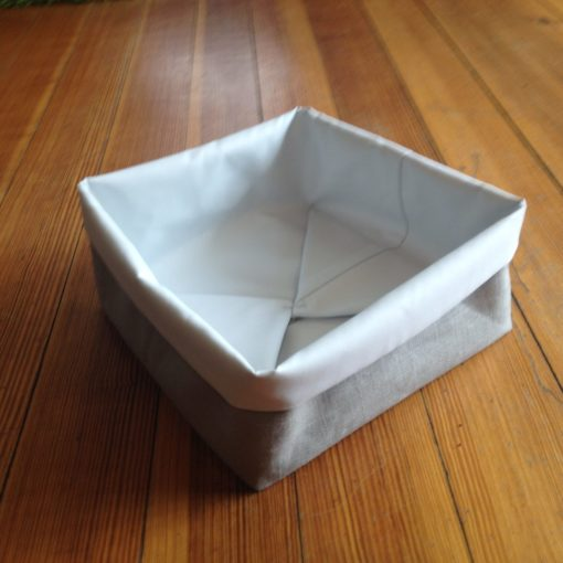 simple sewing fabric pot