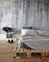 lit sur palettes cosy