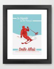 emile allais vintage ski racer