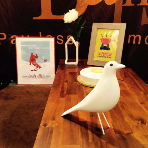 affiches cosyneve oiseau bois