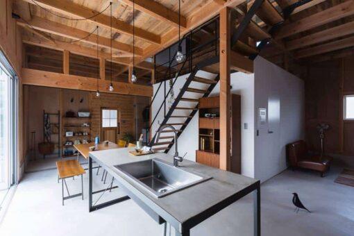 intérieur moderne et bois