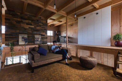 mezzanine cosy bois