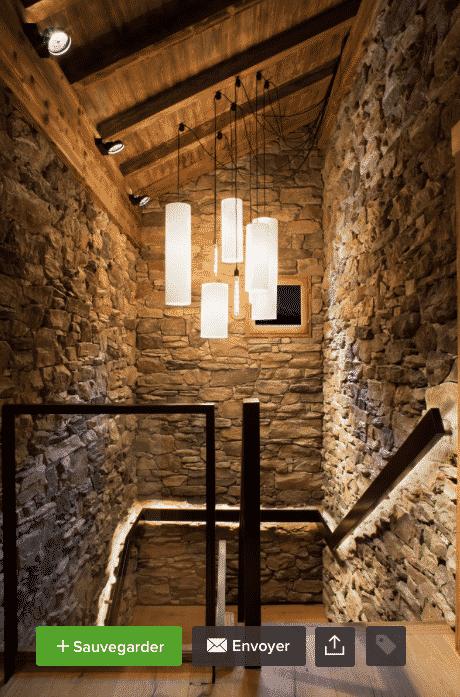 Blog cosy neve design design d 39 int rieur en montagne - Chalet pierre meribel ...